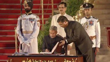 Subrahmanyam Jaishankar Takes Oath As Union Minister in PM Narendra Modi's Cabinet