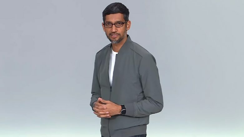 CEO Sundar Pichai Spotted Wearing Fossil Sport Smartwatch at Google I/O 2019