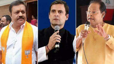 Rahul Gandhi Leads By Huge Margin In Wayanad Lok Sabha Constituency, Malayalam Actors Suresh Gopi And Innocent Trailing