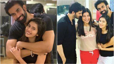 Sushmita Sen Shares an Adorable Post Announcing Brother Rajeev's Engagement to TV Actress Charu Asopa - See Pics!