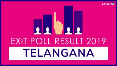Telangana Exit Poll Results For Lok Sabha Elections 2019 In All Constituencies: TRS to Win 12 Seats, Congress 2, BJP 1