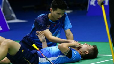 Badminton Player Teo Ee Yi Accidentally Gets Smashed by Doubles Partner, Exits Sudirman Cup After Freak Injury