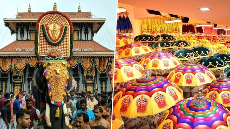 Thrissur Pooram 2019: Stunning Photos And Videos From the Temple Festival in Kerala Flood Social Media