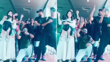 TikTok With Sunny Leone and Rannvijay Singha! MTV Splitsvilla 12 Squad Grooves With Actress' Twins Noah-Asher (Watch Video)