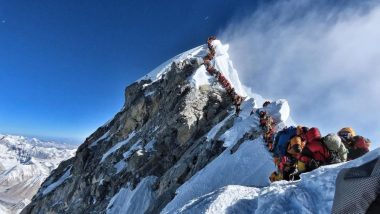 Traffic Jam on Mt Everest Caused by 200 Climbers; 16 Including 8 Indians Die Due to Overcrowding And Exhaustion