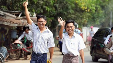 Reuters Journalists Who Were Jailed in  Myanmar Walk Free From Prison