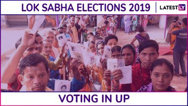 Uttar Pradesh Lok Sabha Elections 2019: Phase 6 Voting Ends in Sultanpur, Phulpur, Azamgarh & 11 Other Constituencies; 54.74% Voter Turnout Recorded