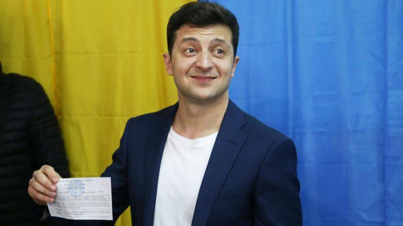 Comedian Volodymyr Zelensky Sworn In As Ukraine's Sixth President
