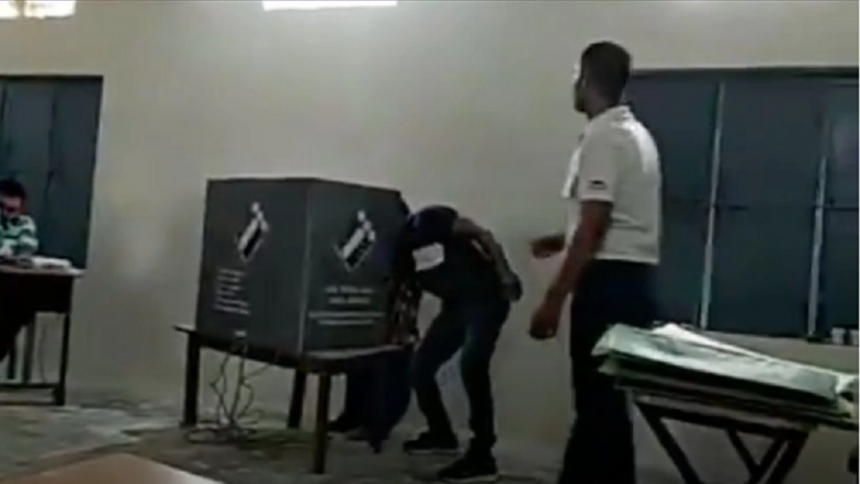 Faridabad Polling Agent Influences Voters Inside Booth, Arrested After Video Goes Viral