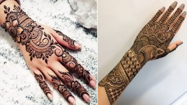 Eid Ul Fitr 2019 Mehendi Designs How To Apply Arabic Style Henna Patterns To Celebrate Eid And Chand Raat Check Diy Design Inspirations Latestly