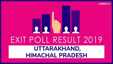 Uttarakhand and Himachal Pradesh Exit Poll Results And Predictions For Lok Sabha Elections 2019: BJP Set to Get Majority in Both States