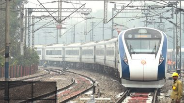 Vande Bharat Express Update: Indian Railways to Roll Out 40 Trains by 2022, Operations on Delhi-Katra Route to Begin Before Festival Season This Year