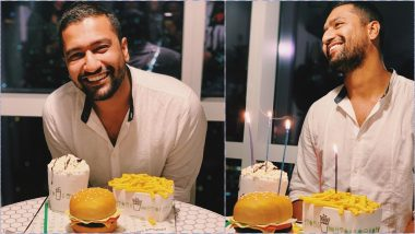 Vicky Kaushal Cuts Burger-and-Fries Cake on 31st Birthday; Alia Bhatt, Taapsee Pannu, Anil Kapoor and Other B-Town Celebs Wish the Birthday Boy!