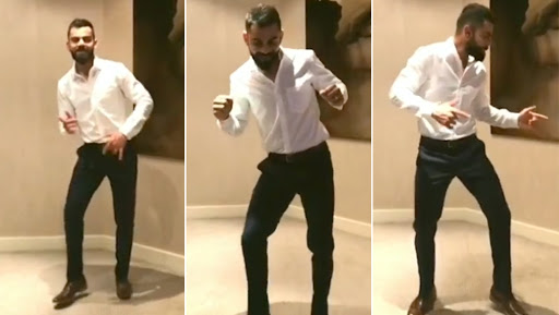 Virat Kohli Shows-Off His Killer Dancing Moves Before Leaving for ICC Cricket World Cup 2019 in England, Watch Video