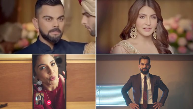 Virat Kohli and Anushka Sharma's Chemistry in These TVCs Is A Treat For Virushka Fans (Watch Videos)