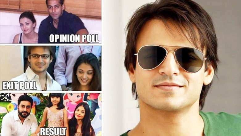Vivek Oberoi's Trouble Mounts as Mumbai Mahila Congress Seeks FIR Against Him For Disgraceful Meme on Salman & Aishwarya