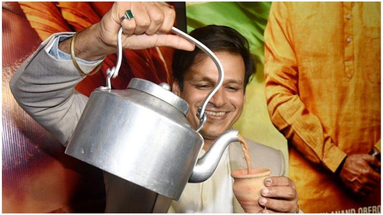 Vivek Oberoi Serves Tea Outside His Residence Ahead of PM Narendra Modi Biopic Release- View Pics