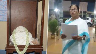 Ishwar Chandra Vidyasagar Statue Vandalism: Mamata Banerjee Appoints Home Secretary Alapan Bandyopadhyay and 5-Member Committee to Probe Incident