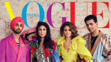 Kareena Kapoor Khan, Karan Johar, Diljit Dosanjh Turn into the Coolest 'Forces of Fashion' for the June Vogue Issue