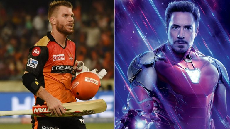 Sunrisers Hyderabad Pays Tribute to David Warner and It Resembles to Iron Man From Avengers Endgame (Watch Video)