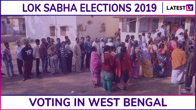 West Bengal Lok Sabha Elections 2019 Phase 6: Voting Concludes in Jhargram, Medinipur & 6 Other Constituencies; 80.16% Voter Turnout Recorded