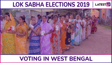 West Bengal Lok Sabha Elections 2019 Phase 7: Voting at Basirhat, Barasat, Jadavpur and Other Constituencies Underway | 65.11 Per Cent Voter Turnout Recorded Till 5 PM