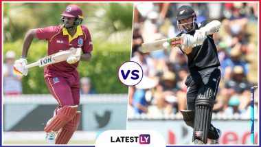 NZ vs WI Highlights of ICC World Cup 2019 Warm-up Match: West Indies Beat New Zealand by 91 Runs in Practice Game