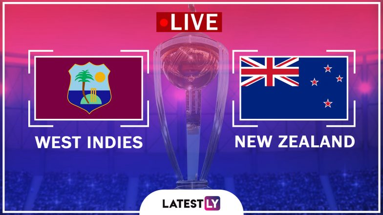 Live Cricket Streaming of New Zealand vs West Indies ICC World Cup 2019 Warm-Up Match: Check Live Cricket Score, Watch Free Telecast of NZ vs WI Practice Game on Star Sports, SKY TV, ESPN & Hotstar Online