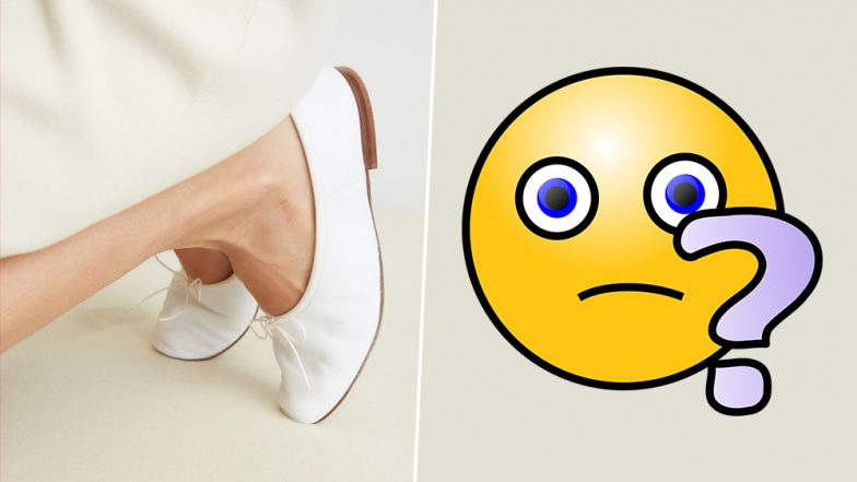 Photo of White Ballerina Shoes Creates Optical Illusion, Drives Internet Crazy! (View Pic and Decide)