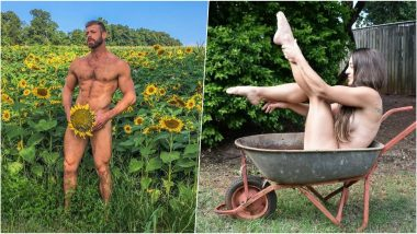 World Naked Gardening Day 2019 Celebration: Time to Undress and Get 'Dirty' on First Saturday of May!