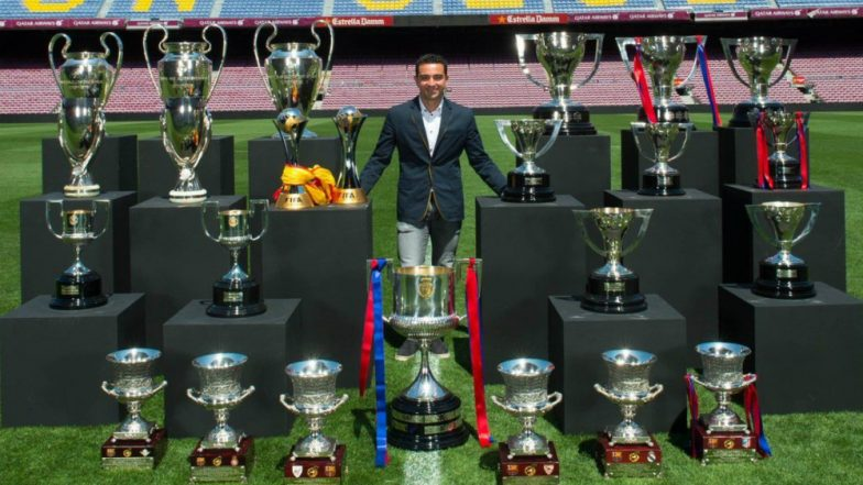 Barcelona Midfielder Xavi Hernandez Announces Retirement