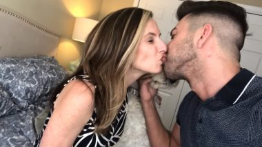 YouTuber Who Kissed Sister As a Prank, Repeats The Same With His Mother (Watch Video)