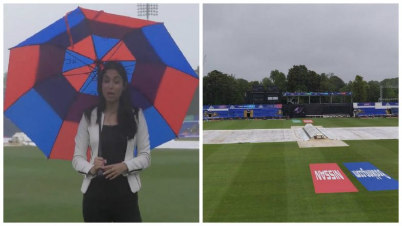 Pakistan vs Bangladesh ICC Cricket World Cup 2019 Warm-Up Match Abandoned Due to Rain, Fans Complain on Twitter About English Weather & 'Zainab Abbas Tune Kya Kiya!'