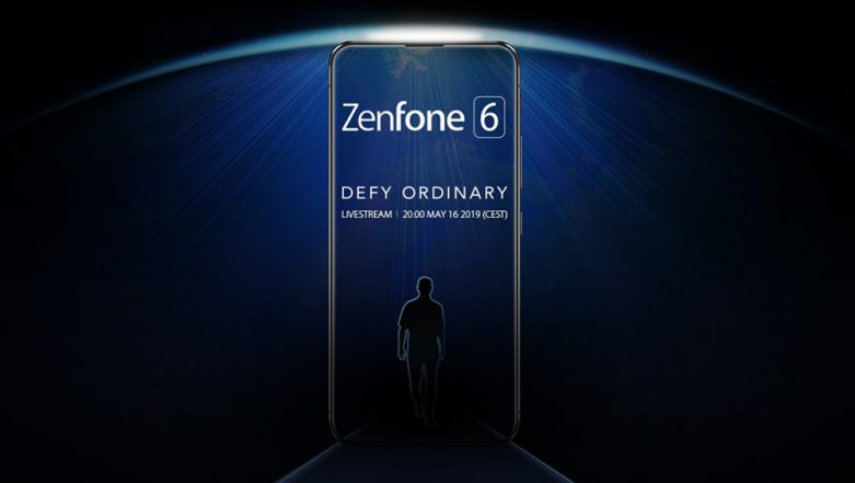 Asus Zenfone 6 Flagship Smartphone Teaser Shows Bezel-less Screen Design; Global Unveil on May 16 in Spain
