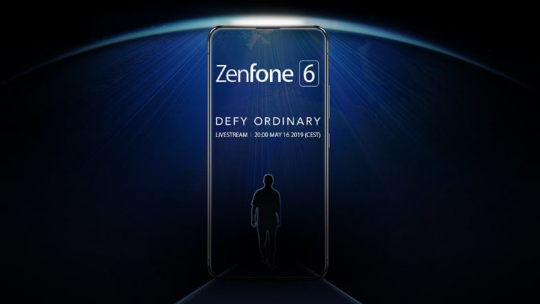 ASUS ZenFone 6 teaser hints notch-less design