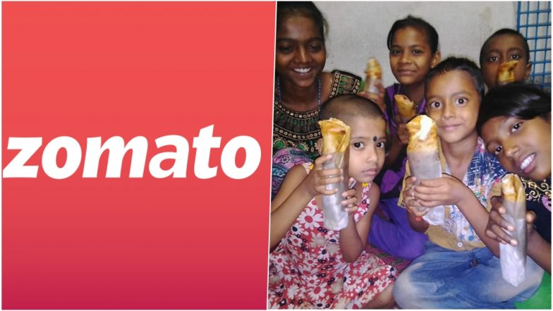 Zomato Delivery Guy Aka 'Roll Kaku' From Kolkata Feeds Poor Kids With Cancelled Orders, Wins Hearts Everywhere