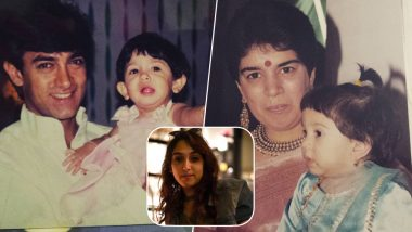 Aamir Khan's Posts a Throwback Pic to Wish Ira Khan on Her Birthday, These Childhood Photos of the Actor's Daughter Will Melt Your Hearts!