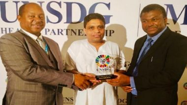 Acharya Balkrishna, Chairman of Patanjali Ayurved, Receives 'UNSDG 10 Most Influential People in Healthcare Award'