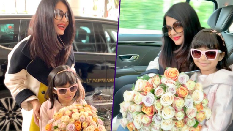 Cannes 2019: Aishwarya Rai Bachchan Arrives with Daughter Aaradhya and We Can't Wait to See Her Fashion Outings for This Year - View Pics