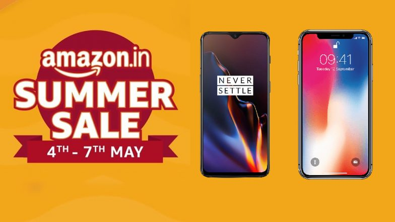Amazon Summer Sale Best Offers: Deals on OnePlus 6T, Apple iPhone X, Samsung Galaxy M20 & Xiaomi Redmi 6A You Shouldn't Miss Before Akshaya Tritiya 2019