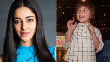Ananya Panday Returns to Childhood In This Goofy Video With AbRam Khan!