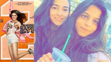 Ananya Panday Reveals BFF Suhana Khan's Reaction to Student of the Year 2 Trailer