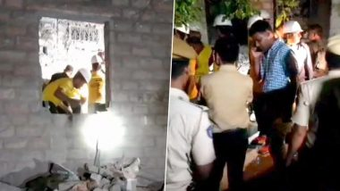 Rajasthan: 3 Dead After Roof of Under-Construction Building Collapses in Prithvipura Area of Jodhpur