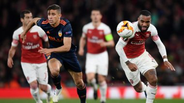 Valencia vs Arsenal, UEFA Europa League Semifinal Live Streaming Online: How to Get Football Match Live Telecast on TV & Free Score Updates in Indian Time?