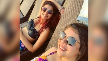 Sriti Jha Aka Pragya of Kumkum Bhagya Gives Off Perfect Beach Vibes in This Black Bikini – View Pics