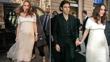 Keira Knightley Pregnant With a Second Child; the Pride & Prejudice Actor Walked in Chanel J12 Cocktail Party With a Baby Bump