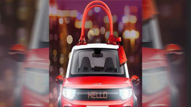 Car Manufacturer BAIC BJEV Launches Handbags in Shape of Electric Cars Featuring LED Displays! (See Picture)