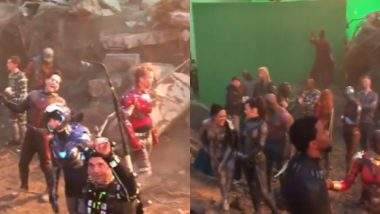 Chris Evans Is Giving Away Avengers: Endgame Spoilers Like Free Candy at a Birthday Party, Shares New BTS Video
