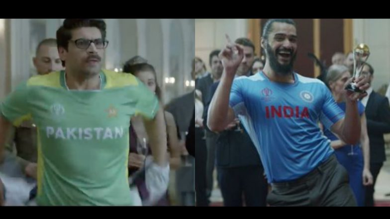 Pakistan Fan 'Mauka Mauka Man' Spotted in Cricket Ka Crown Anthem by Star Sports for ICC Cricket World Cup 2019, Watch Video