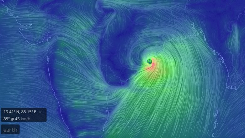 Cyclone Fani Live Tracker: Watch Movement Of Storm On The Map By Typing earth.nullschool.net On Your Browser